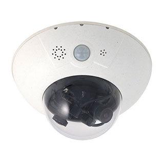 IP-камера видеонаблюдения купольная Mobotix MX-D15Di-SEC-Night-180