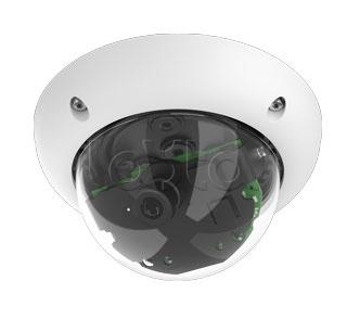 Mobotix MX-D25M-Sec-D38, IP-камера видеонаблюдения уличная купольная Mobotix MX-D25M-Sec-D38