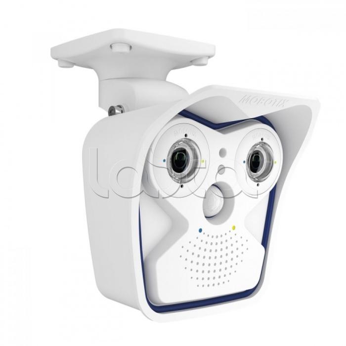Mobotix MX-M15D-Sec-DNight-D65N65-6MP-F1.8, IP-камера видеонаблюдения уличная в стандартном исполнении Mobotix MX-M15D-Sec-DNight-D65N65-6MP-F1.8