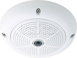 Mobotix MX-Q25M-Sec-D12-BL, IP-камера видеонаблюдения уличная купольная Mobotix MX-Q25M-Sec-D12-BL