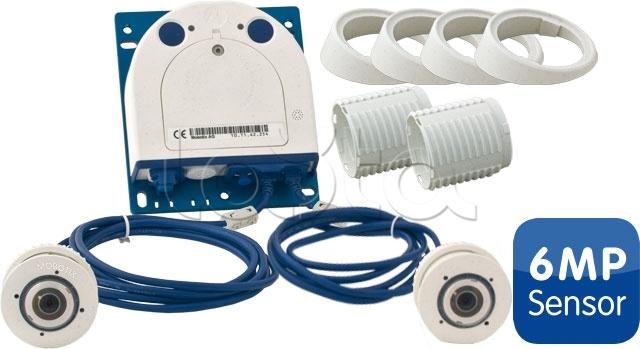 Mobotix MX-S15D-Set2-6MP, Комплект видеонаблюдения №2 Mobotix MX-S15D-Set2-6MP