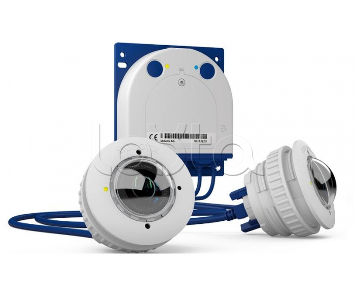 Mobotix MX-S15D-Set3-6MP, Комплект IP видеонаблюдения Mobotix MX-S15D-Set3-6MP