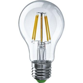 Лампа светодиодная LED 6Вт,220В, Е27 (теплый) FILAMENT Navigator NLL-F-A60-6-230-2.7K-E27