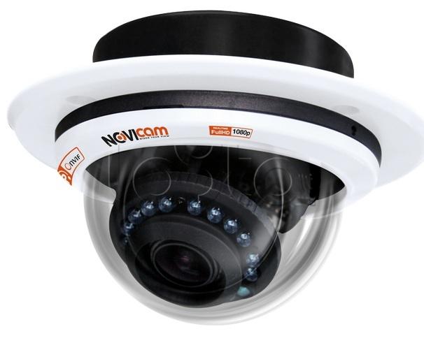 NOVIcam IP N27, IP-камера видеонаблюдения купольная NOVIcam IP N27