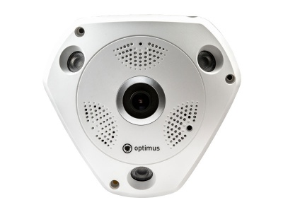 Камера видеонаблюдения купольная Optimus AHD-H112.1(1.7)