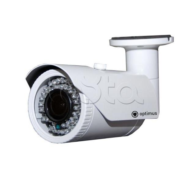 Optimus IP-E012.1(2.8-12)P, IP-камера видеонаблюдения уличная в стандартном исполнении Optimus IP-E012.1(2.8-12)P