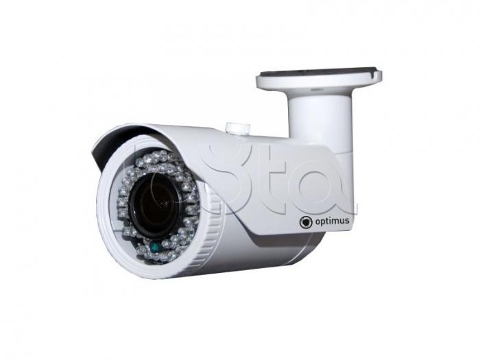 Optimus IP-E012.1(2.8-12)P_V2035, IP-камера видеонаблюдения уличная в стандартном исполнении Optimus IP-E012.1(2.8-12)P_V2035