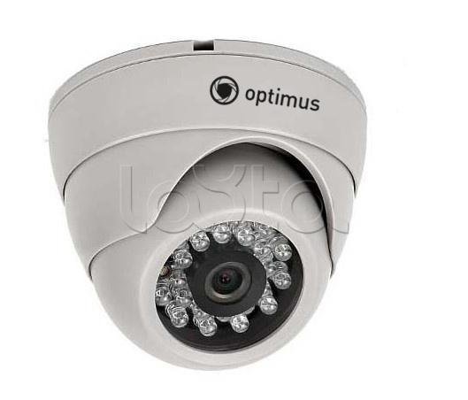 Optimus IP-E021.0(2.8), IP-камера видеонаблюдения купольная Optimus IP-E021.0(2.8)