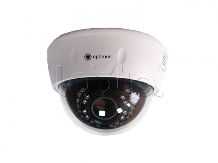 Optimus IP-E021.3(2.8-12)P, IP-камера видеонаблюдения купольная Optimus IP-E021.3(2.8-12)P