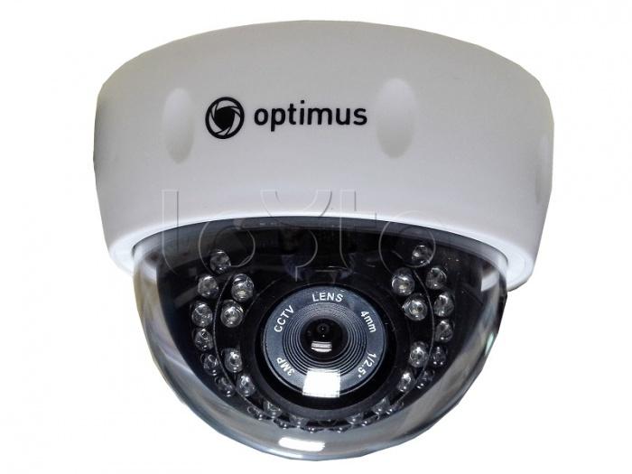 Optimus IP-E021.3(3.6), IP-камера видеонаблюдения купольная Optimus IP-E021.3(3.6)
