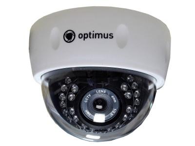 IP-камера видеонаблюдения купольная Optimus IP-E022.1(3.6)P_V2035