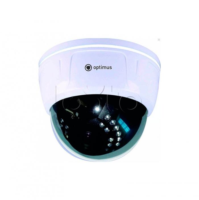 Optimus IP-E024.0(2.8-12)P, IP-камера видеонаблюдения купольная Optimus IP-E024.0(2.8-12)P