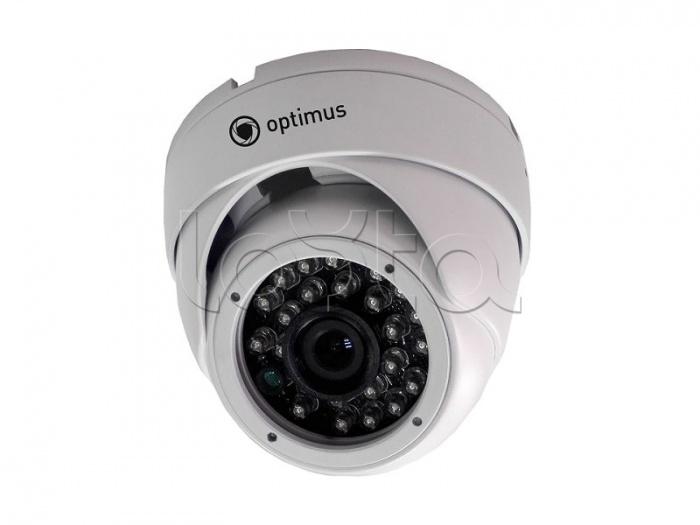 Optimus IP-E041.0(3.6), IP-камера видеонаблюдения уличная купольная Optimus IP-E041.0(3.6)