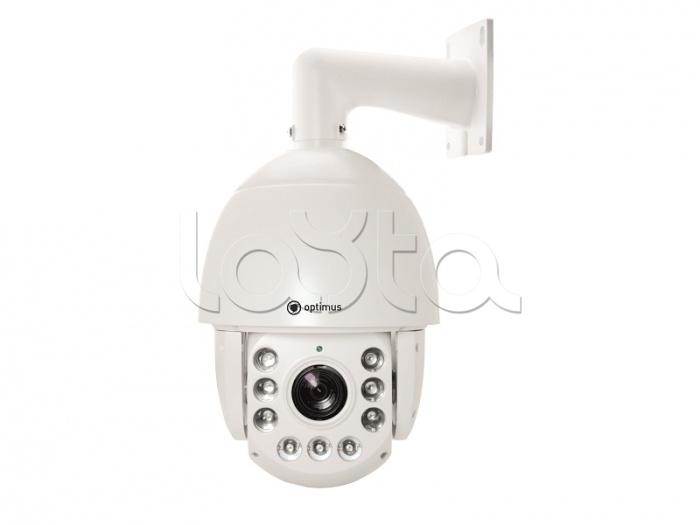 Optimus IP-E092.1(20x), IP-камера видеонаблюдения PTZ уличная купольная Optimus IP-E092.1(20x)