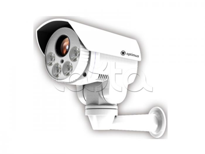 Optimus IP-P082.1(10x), Камера видеонаблюдения PTZ уличная купольная Optimus IP-P082.1(10x)