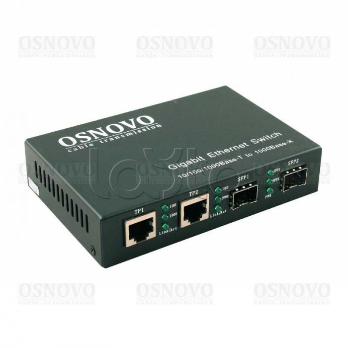 Коммутатор Osnovo SW-8082/IC 8 портов 10/100/1000Mbps