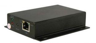 Удлинитель Ethernet для передачи по коаксиальному кабелю OSNOVO TR-IP/1