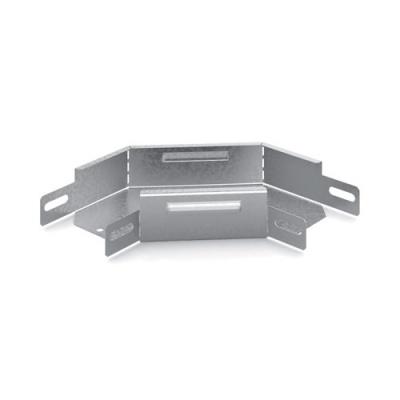 Соединитель угловой плоский к лотку 200x50 OSTEC УСП-200х50