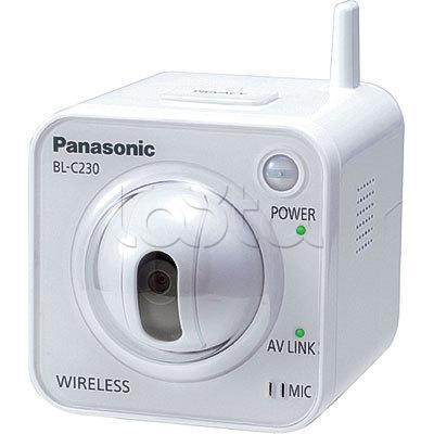 Panasonic BL-C230CE (Wi-Fi), IP-камера видеонаблюдения миниатюрная PTZ Panasonic BL-C230CE (Wi-Fi)