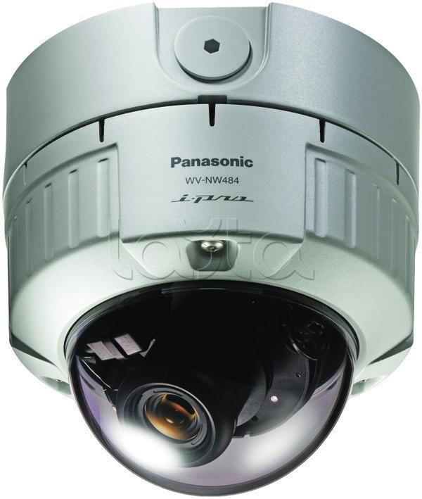Panasonic WV-NW484SE, IP-камера видеонаблюдения купольная фиксированная Panasonic WV-NW484SE