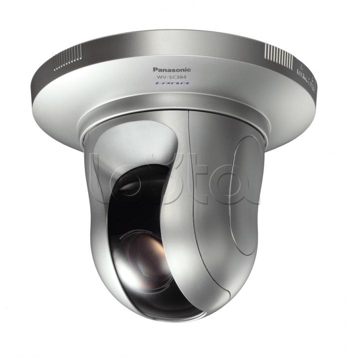 Panasonic WV-SC384E, IP-камера видеонаблюдения PTZ Panasonic WV-SC384E
