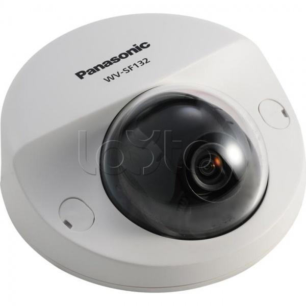 Panasonic WV-SF132E, IP-камера видеонаблюдения купольная фиксированная Panasonic WV-SF132E
