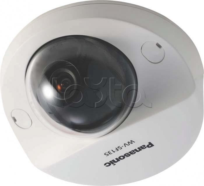 Panasonic WV-SF135E, IP-камера видеонаблюдения купольная фиксированная Panasonic WV-SF135E