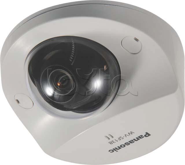 Panasonic WV-SF138E, IP-камера видеонаблюдения купольная фиксированная Panasonic WV-SF138E
