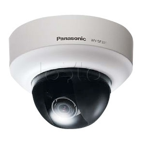 Panasonic WV-SF335E, IP-камера видеонаблюдения купольная фиксированная Panasonic WV-SF335E