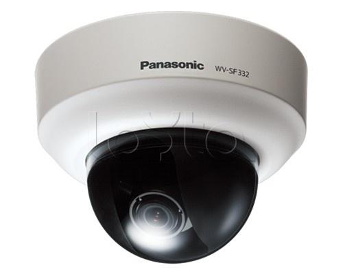 Panasonic WV-SF336E, IP-камера видеонаблюдения купольная фиксированная Panasonic WV-SF336E