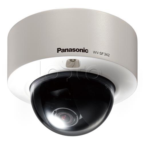 Panasonic WV-SF346E, IP-камера видеонаблюдения купольная фиксированная Panasonic WV-SF346E