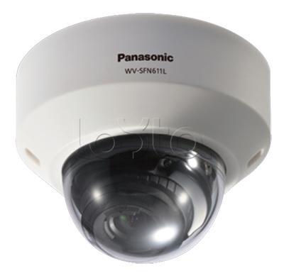 Panasonic WV-SFN611L, IP-камера видеонаблюдения купольная антивандальная Panasonic WV-SFN611L