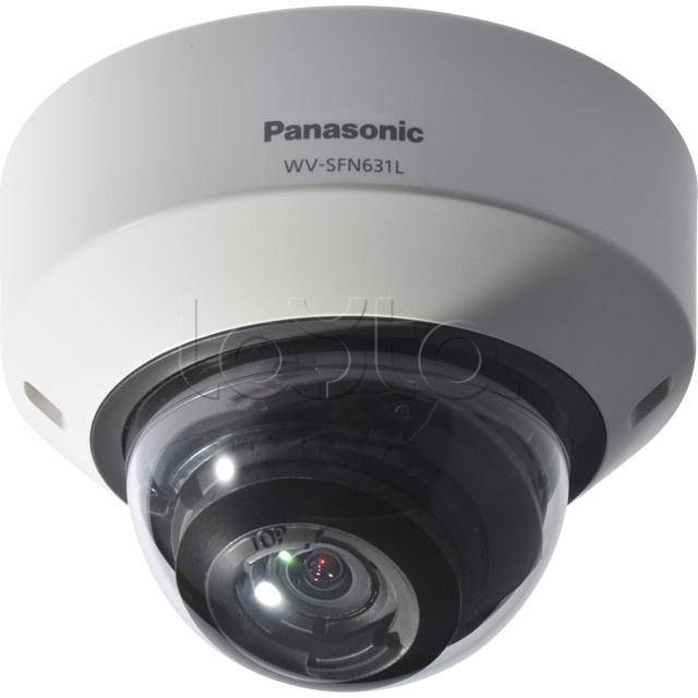 Panasonic WV-SFN631L, IP-камера видеонаблюдения купольная антивандальная Panasonic WV-SFN631L