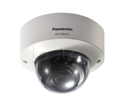 Panasonic WV-SFR611L, IP-камера видеонаблюдения купольная антивандальная Panasonic WV-SFR611L