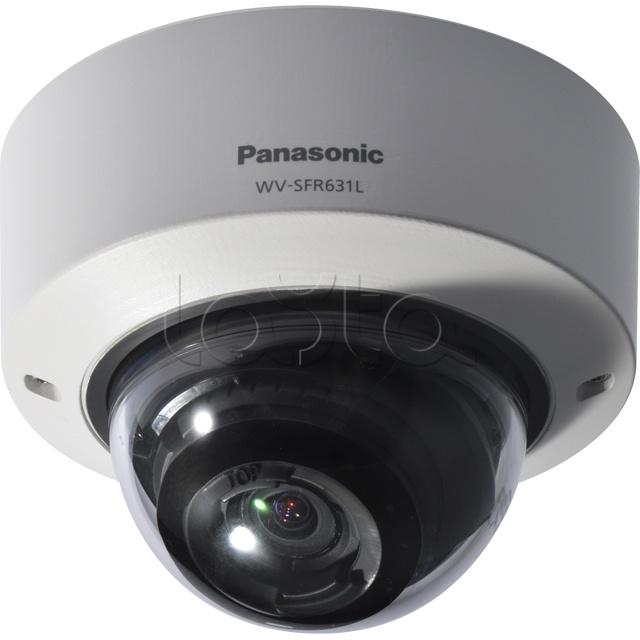 Panasonic WV-SFR631L, IP-камера видеонаблюдения купольная антивандальная Panasonic WV-SFR631L