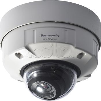 Panasonic WV-SFV631L, IP-камера видеонаблюдения купольная антивандальная Panasonic WV-SFV631L