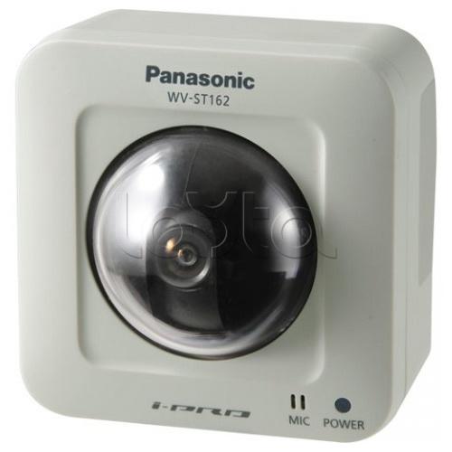 Panasonic WV-ST162E, IP-камера видеонаблюдения купольная поворотная Panasonic WV-ST162E