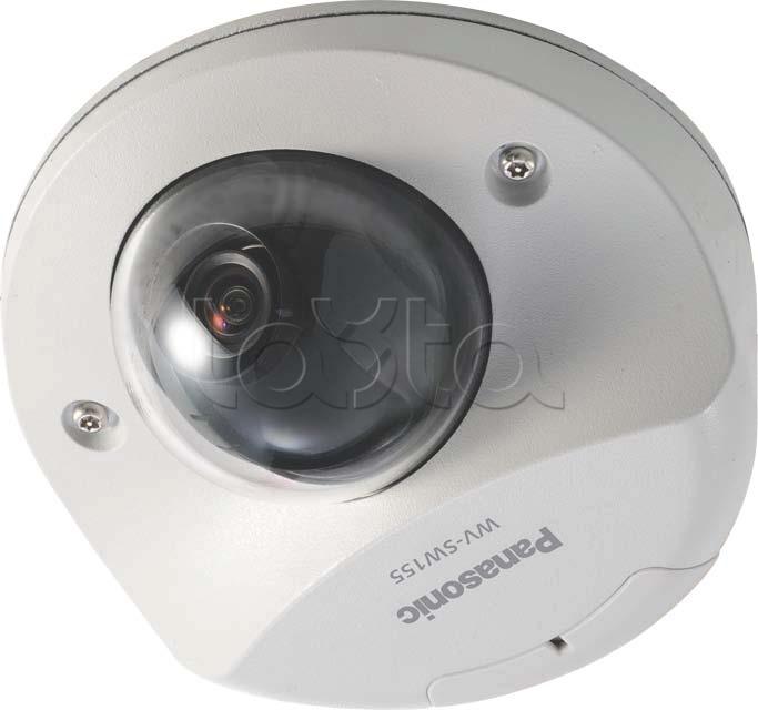 Panasonic WV-SW155E, IP-камера видеонаблюдения купольная фиксированная Panasonic WV-SW155E