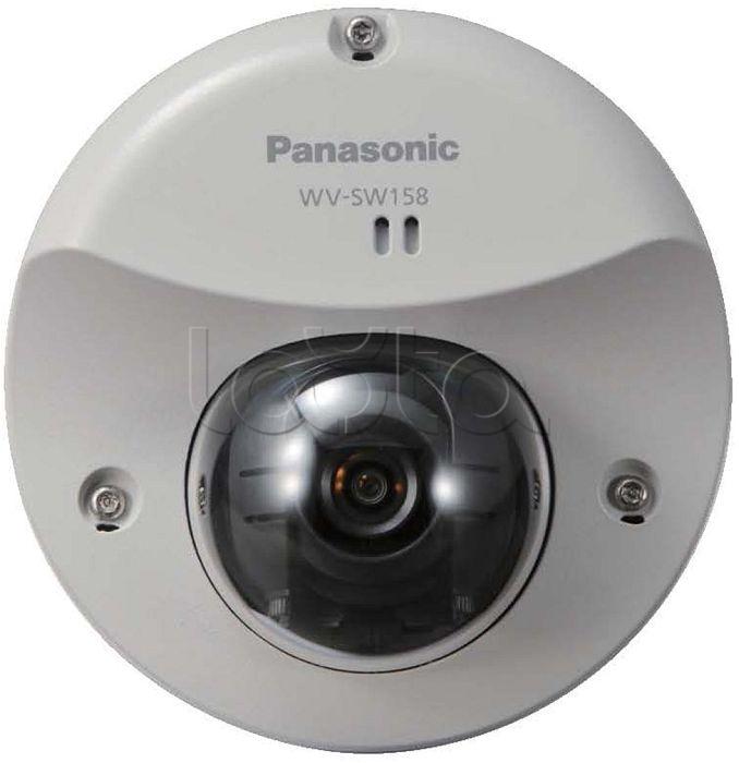 Panasonic WV-SW158, IP-камера видеонаблюдения уличная купольная Panasonic WV-SW158