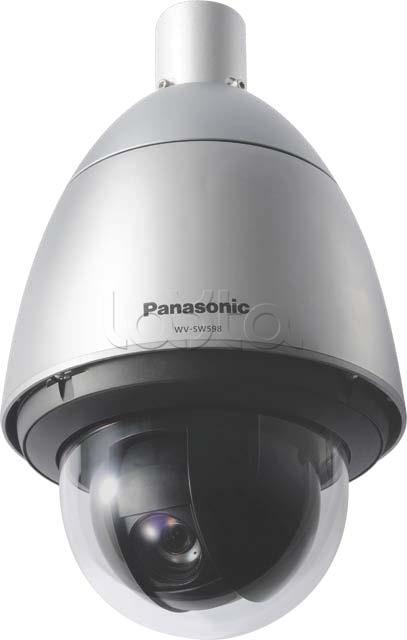 Panasonic WV-SW598E, IP-камера видеонаблюдения PTZ уличная Panasonic WV-SW598E