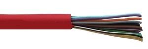 Кабель неэкранированный, групповой прокладки, для систем связи, сигнализации и телекоммуникаций КСВВнг(А)-LS 20x0.5 Паритет (200 м)