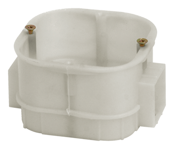 Коробка установочная, приборная, усиленная, 60x60x43 (200шт/уп) ПожТехКабель 010-003