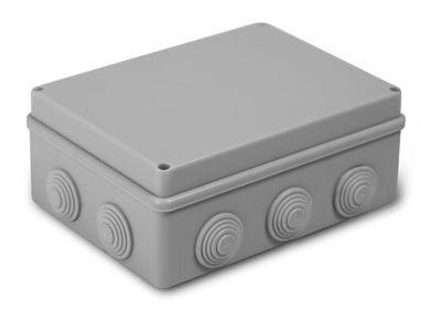 Коробка распаячная, для наружного монтажа, 190x140x70 (18 шт/уп) ПожТехКабель 050-042