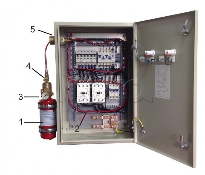 ПОЖТЕХНИКА F-Line 01П (Г), Устройство тушения электрических шкафов автоматическое ПОЖТЕХНИКА F-Line 01П (Г)