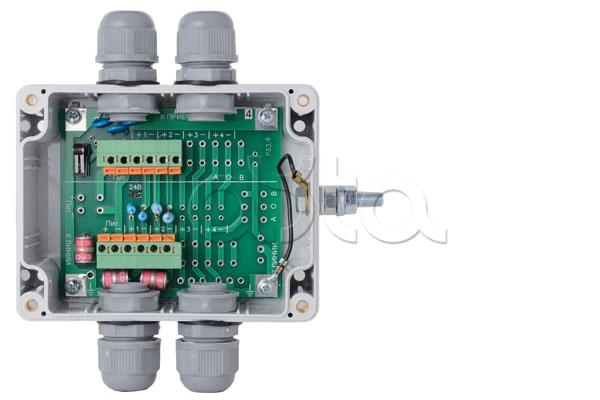 Полисервис Модуль УЗ-1Ш-1ТВ-12, Модуль грозозащиты на 1 шлейф, на 1 ТВ-линию бескорпусный Полисервис УЗ-1Ш-1ТВ-12