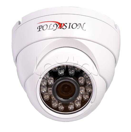 Polyvision PD-IP1-B3.6 v.2.1.1 (PD20-M1-B3.6IRА-IP), IP-камера видеонаблюдения купольная антивандальная Polyvision PD-IP1-B3.6 v.2.1.1 (PD20-M1-B3.6IRА-IP)