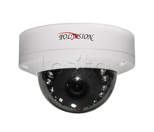 Polyvision PD4-IP1-B2.8 v.7.12, IP-камера видеонаблюдения купольная антивандальная Polyvision PD4-IP1-B2.8 v.7.12