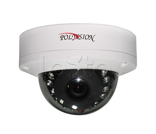 Polyvision PD4-IP2-B2.8 v.7.31, IP-камера видеонаблюдения купольная антивандальная Polyvision PD4-IP2-B2.8 v.7.31