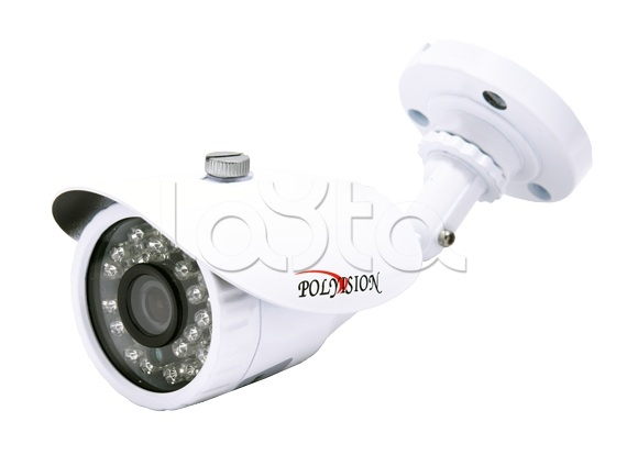 Polyvision PN-IP1-B3.6 v.2.0.1, IP-камера видеонаблюдения уличная в стандартном исполнении Polyvision PN-IP1-B3.6 v.2.0.1