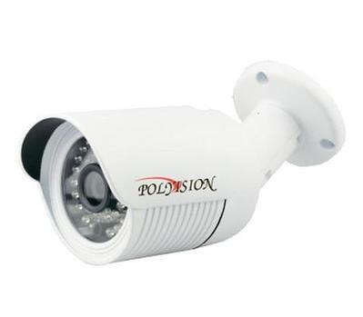 IP-камера видеонаблюдения уличная в стандартном исполнении Polyvision PN-IP1-B3.6 v.2.1.4 (PN20-M1-B3.6IRА-IP)